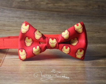 iron man Tony Stark Bow tie - Bowtie marvel comics