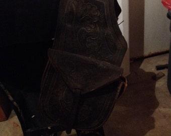 Vintage Saddle Bag