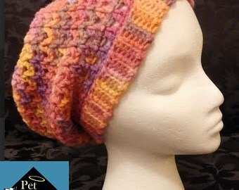 Child Pretty Pastel Slouchy Hat