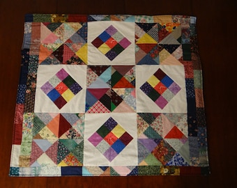 "Patchwork Baby Quilt 33"" x 37"""