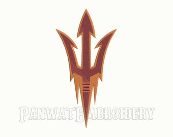 9 Size Arizona State Sun Devils Embroidery Designs, Machine Embroidery Designs, College Football Embroidery Designs - INSTANT DOWNLOAD
