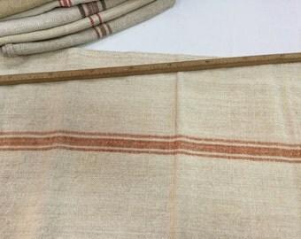 Vintage grain sack hemp / former grain bag in hemp