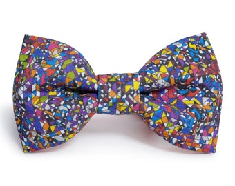 Crazy Pixels Bow Tie Men Women FREE SHIPPING WORLDWIDE