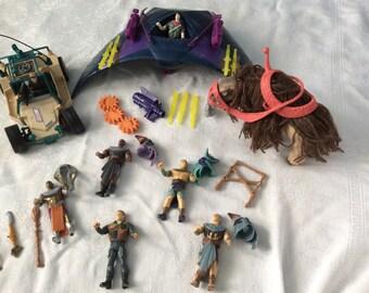 Vintage Stargate toys