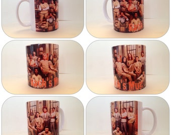 personalised mug cup orange the new black oitnb piper chapman alex crazy eyes gift present prison netflix gay lesbian