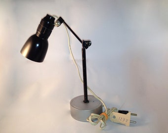 Small black desk lamp - SOLD