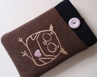 Owl iPad Case, iPad Mini 4 Case iPad mini 4 sleeve iPad Mini 2 sleeve iPad mini 2 pouch ,Samsung Galaxy Tab Pro 8.4 pouch