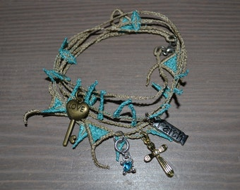 Lace Wrap Bracelet
