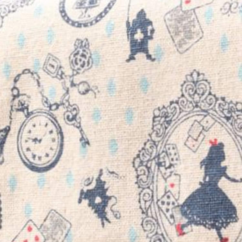 Fabric Cotton Quilt Alice In Wonderland Patchwork By
