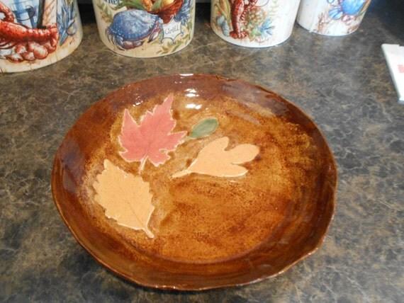 10 inch Fall Dinner Plate