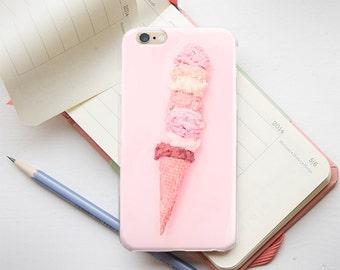 iPhone 5 Protective Case iPhone 5s Hard Case iPhone 5c Phone Case iPhone 6 Case For iPhone 6s iPhone 6 Plus Case IceCream iPhone 6 Plus Case