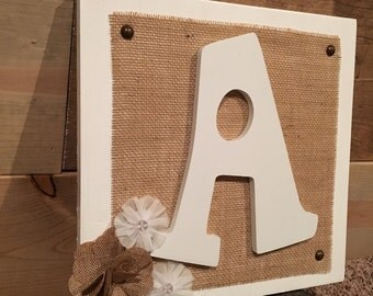 Rustic Letters - Letters - Distressed Letters - Letter Sign - Distressed Letter