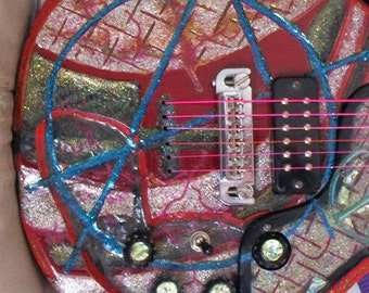 love /anarchie electric guitar