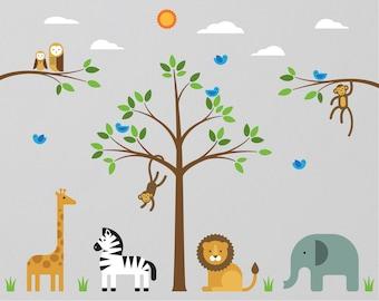 Wall Decals Nursery Etsy - Nursery wall stickers