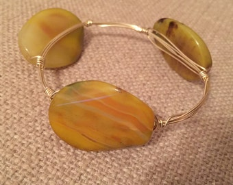 Marble Wire Bangle