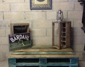 Table palette retro vintage industrial loft