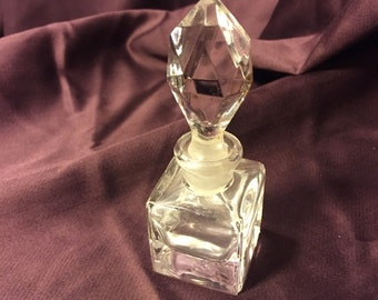 Antique Crystal Perfume Bottle