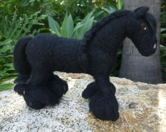 Custom Needle Felted Horse