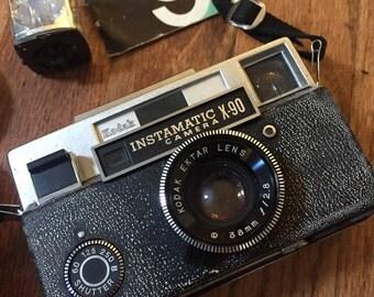 Kodak Instamatic X-90 Camera with Case