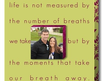 "Personalized Wall Art ""Breaths"""