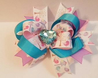 Love Birdies Hairbow
