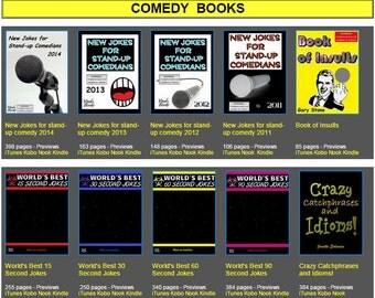 eBooks Comedy Bundle for Kindle / Kobo / Nook / PC / Mac / tablets