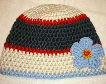 Handmade crochet hat # Häkel-Wintermütze # Handmade Beanie