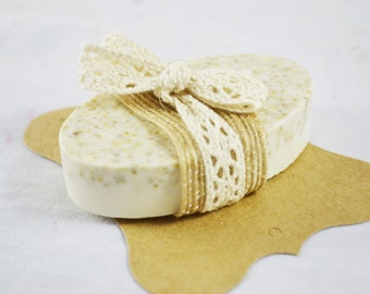 Free Shipping in USA// Oatmeal Exfoliating Soap