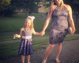 Custom Mommy & Me Dress, Flower Girl Dress