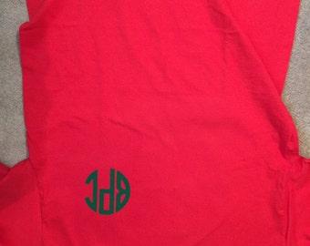 Monogram Elf Christmas Shirt