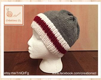 Hat down effect wool / Wool sock hat design