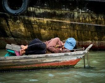 Sleep on the Mekong