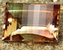 Orange Pink Green Oregon Sunstone 5.54 Ct Flawless-For Rare Jewelry-Investment Grade-Perfect Cut by Ian!!