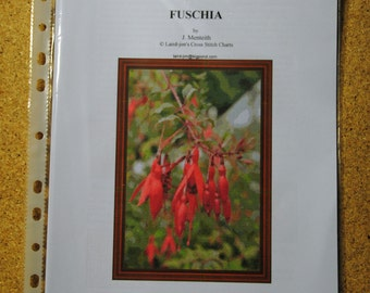 FUSCHIA - cross stitch chart