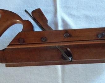 Antique molding plane woodworkers tool carpenter retirement gift cabinet maker tool man cave collectors item