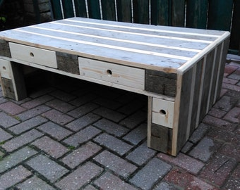 coffee table by pallet