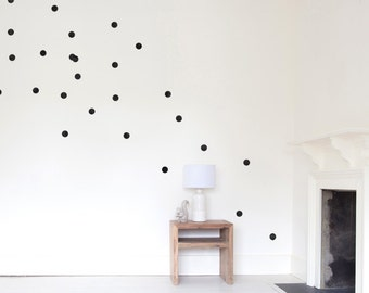 Wall decals - dots - 24 set
