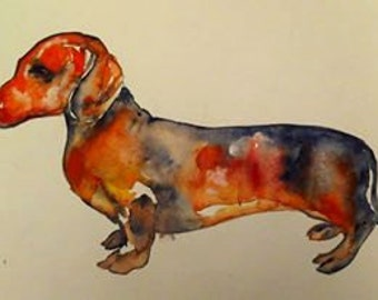 Watercolor Weiner