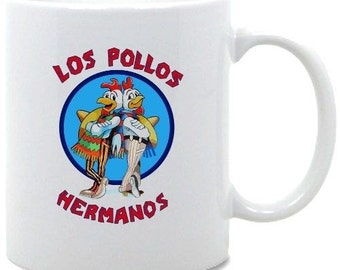 Los Pollos Hermanos Breaking Bad Mug Christmas Birthday Gift Tea Cup