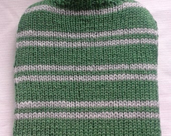 Slytherin Knitted Hot Water Bottle Cover - Harry Potter