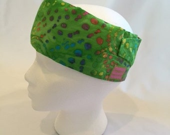 FreezeIt! Migraine Headwraps Serene Green