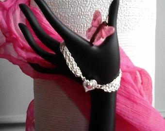 Bracelet heart 1 woman