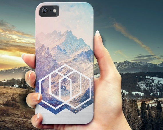 Geometric Colorful Mountains iPhone 6 case, iPhone 6s Plus, iPhone 6 case,  Samsung Galaxy s5 phone case, Galaxy s6 wood case, iPhone 5 5s