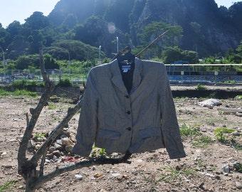 RARE Vintage PENDLETON Blazer,Vintage 70s 80s Pendleton Women's Jacket.Ladies Pendleton Coat,Medium to Large,Hip Hop Rap Rockabilly
