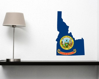 Idaho State Flag Vinyl Cutout