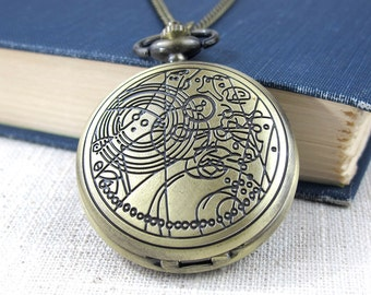 The Doctor's Watch - Doctor Who Pocket Watch