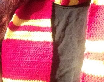 Crochet Gryffindor Scarf