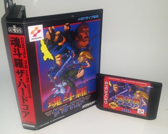 Contra Hardcorps (Japan version for US Consoles)