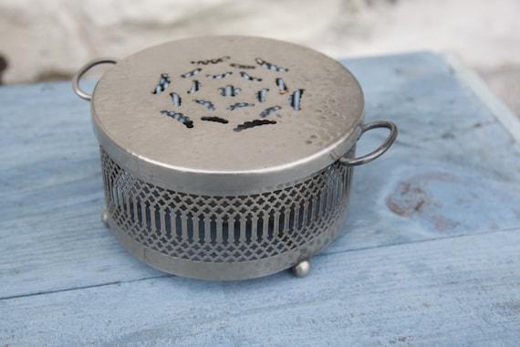 Dinner Plate Warmer ~ French vintage food warmer plate casserole