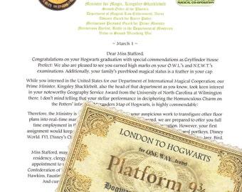 Ministry of Magic Job Offer Letter